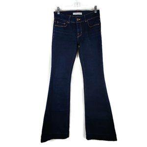 J Brand Lovestory Flare Leg Jeans. Size: 27